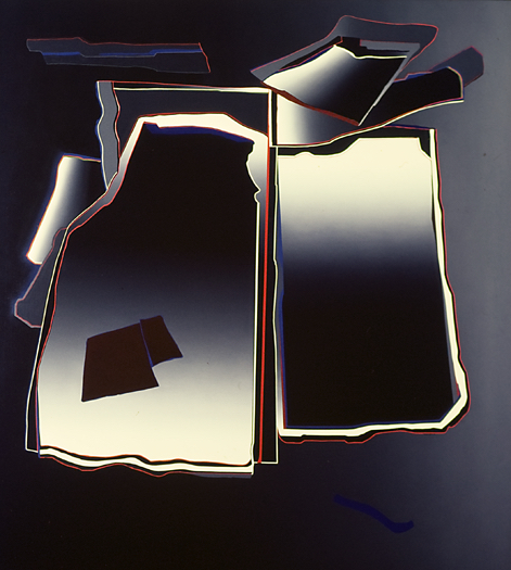 Zanthis 1983 Oil on canvas 74 x 67