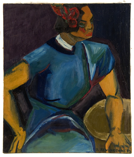 Untitled 1952 Oil on canvas 40 x 36